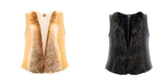 Ugg Australia Sheepskin Fox  Vest