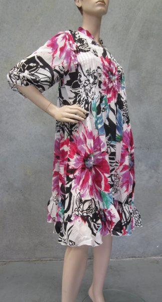 Voile Printed Kurta Dress