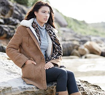 Wild Goose Kelly Sheepskin Jacket