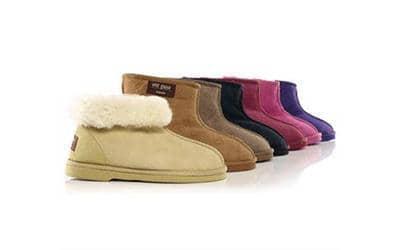 Wild Goose Sheepskin Boots Pink
