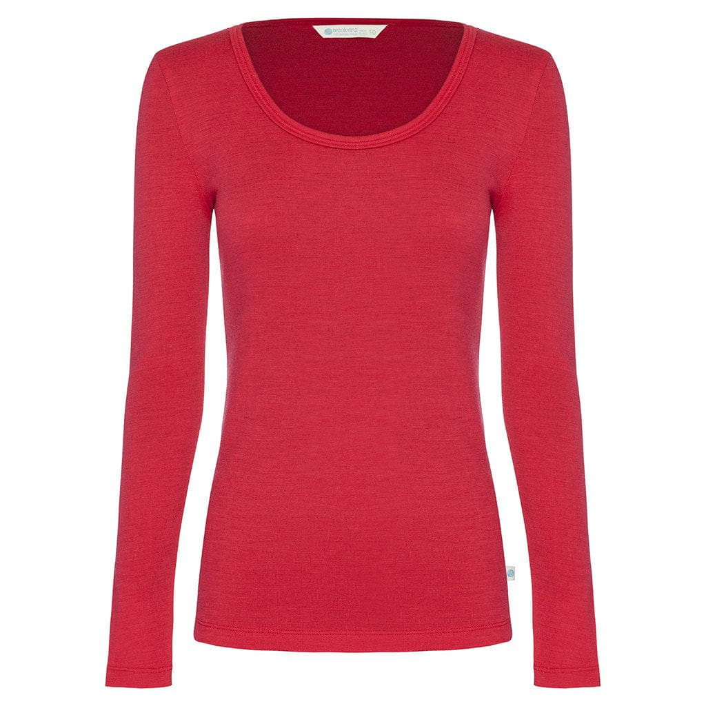 8d55596f8093d Buy Woolerina Merino Scoop Neck Top - Watermelon · AfterPay Zip ...
