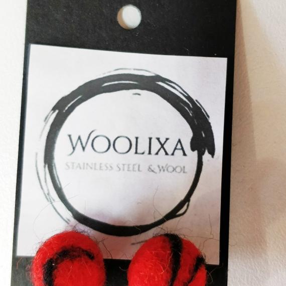 Woolixa Swirl Studs