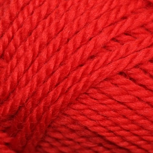 Woolcraft pure wool 8ply Colonial Red - 1004