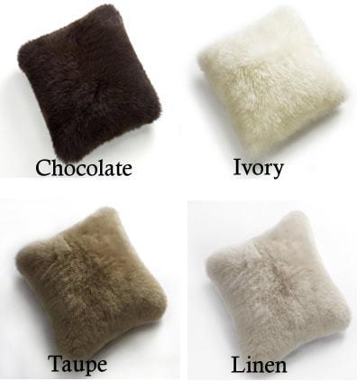 Auskin Long Wool Sheepskin Cushion 40x40