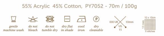 Panda Soft Cotton Chunky - Shell